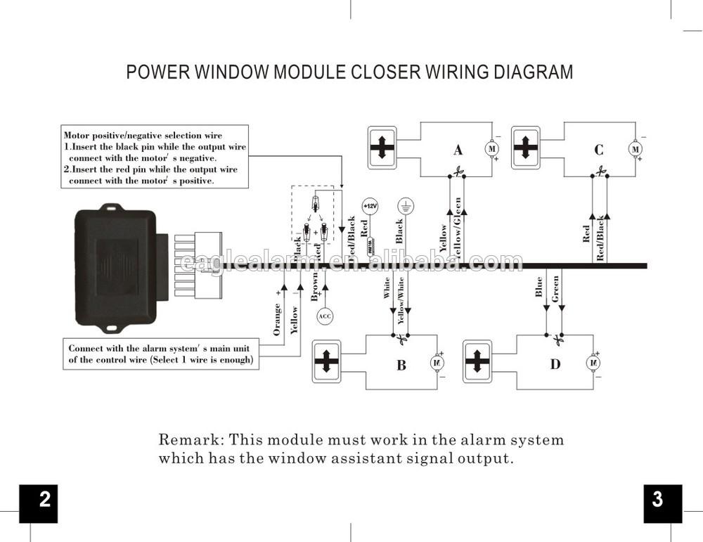Universal Power Window Wiring Diagram For 4 Doors - New Wiring ...