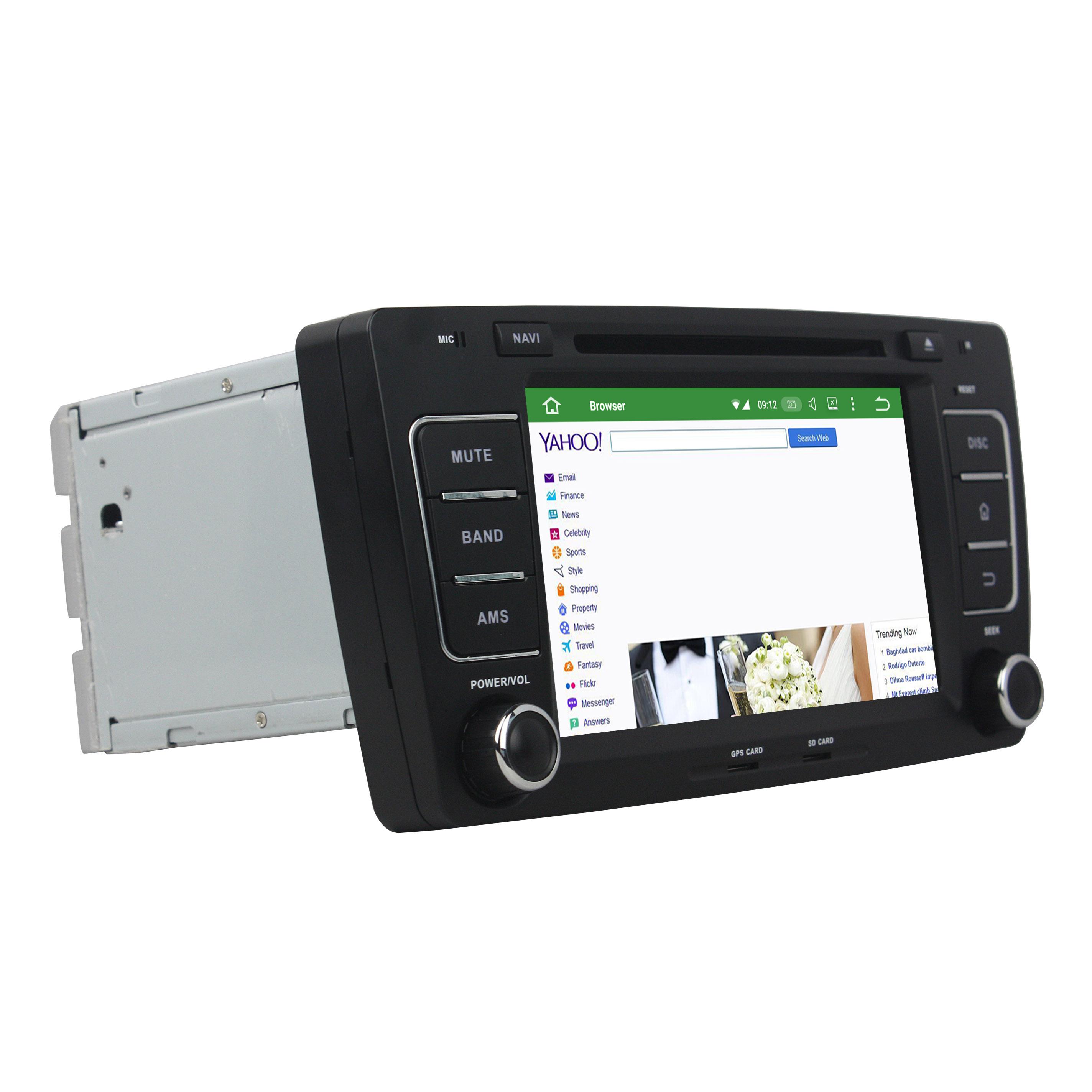 android car DVD for Skoda Octavia 2012