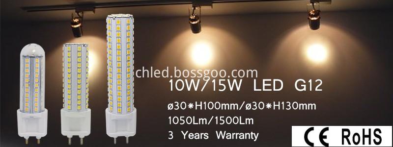 G12 led light series