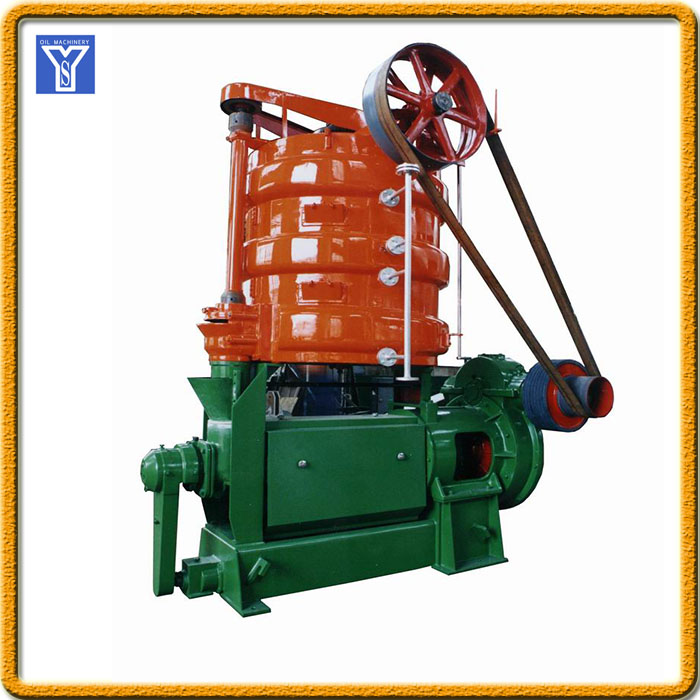 Hot and cold expeller oil machine