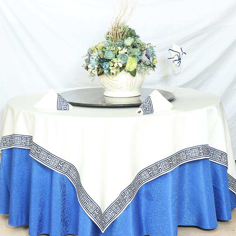 tablecloth dark blue