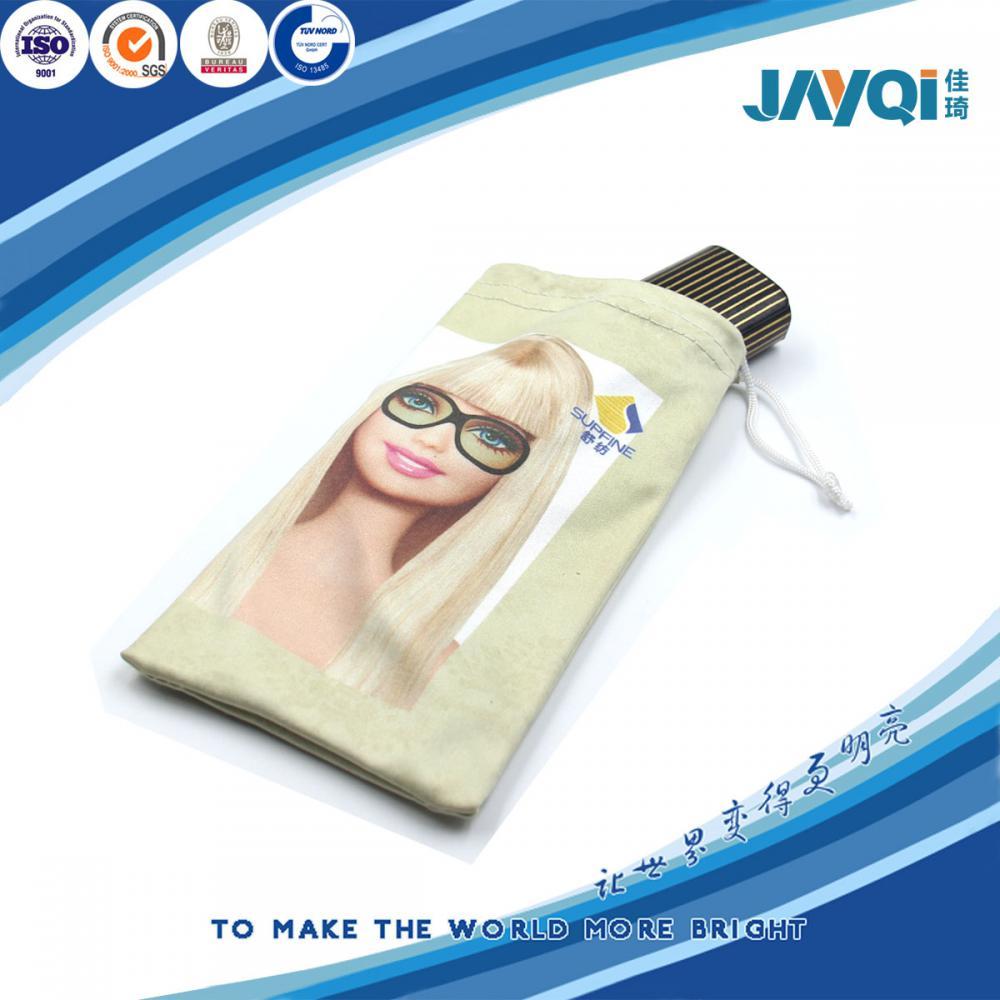 Digital Print Microfibre Fabric Eyeglasses Bag
