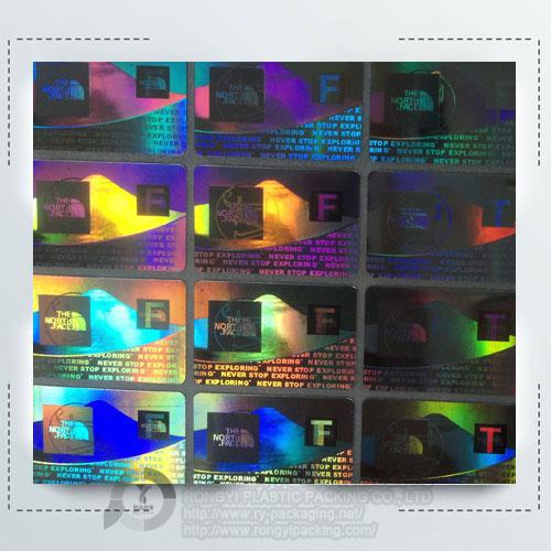 Hologram Retail Security Labels