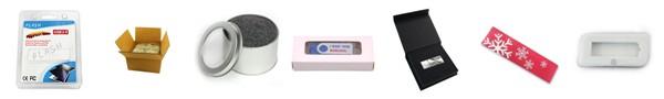 Blister Packaging - Rectangle USB