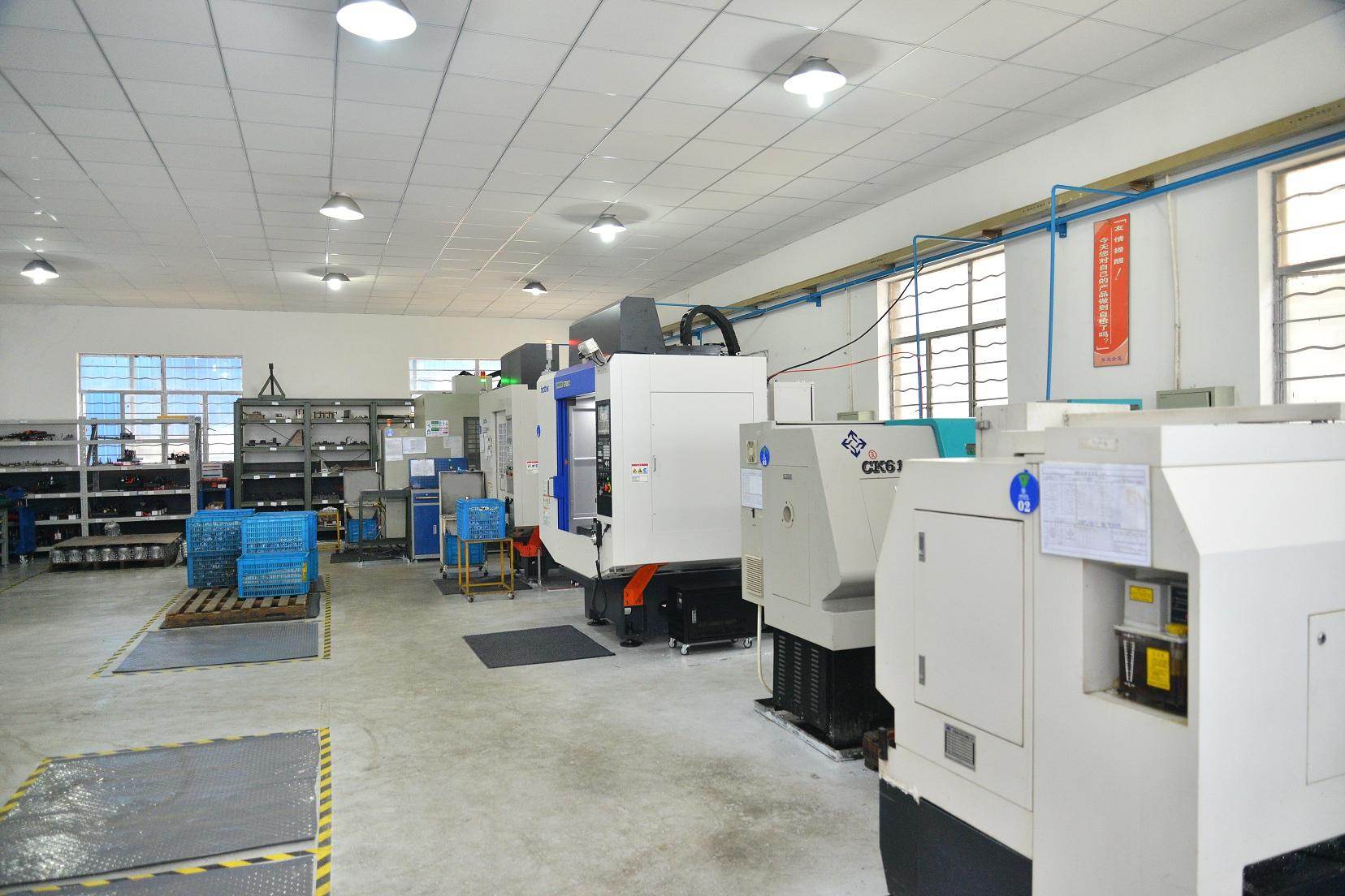 CNC work shop