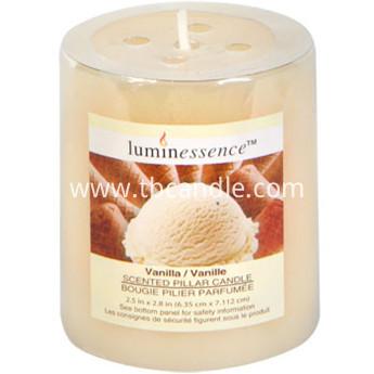 Vanilla Pillar fragranted candles wholesale