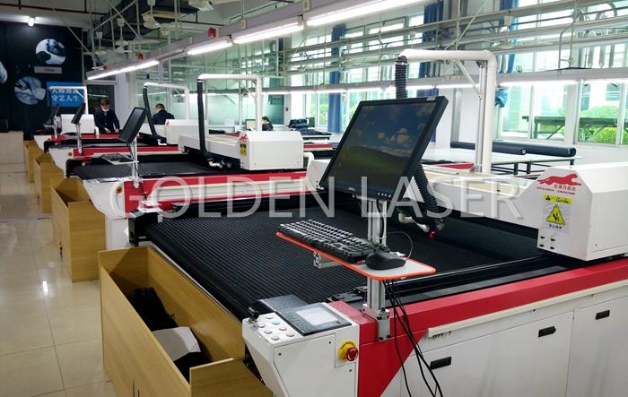garment laser cutting machine golden laser