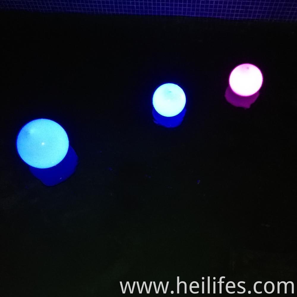 Entertainment venue ball light