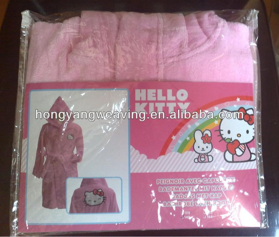 Kids Hooded Sleepwear