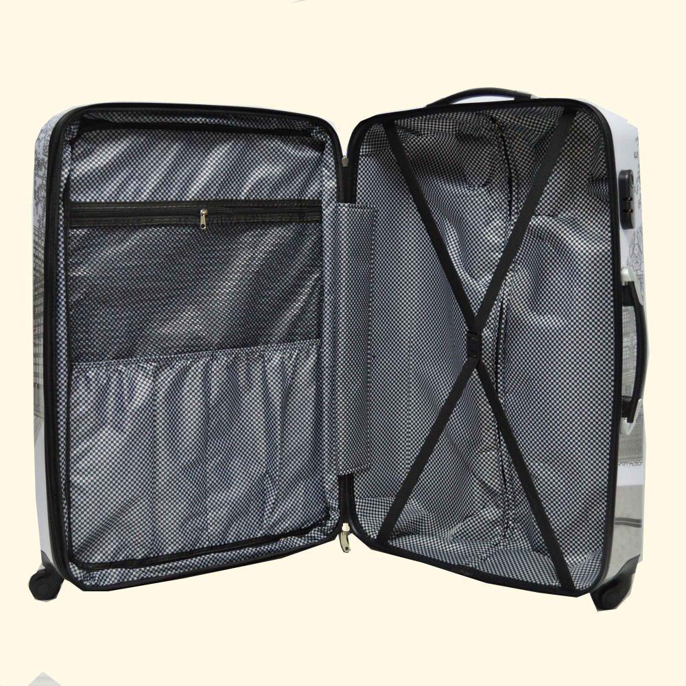Fashion Printing ABS&PC Luggage Set