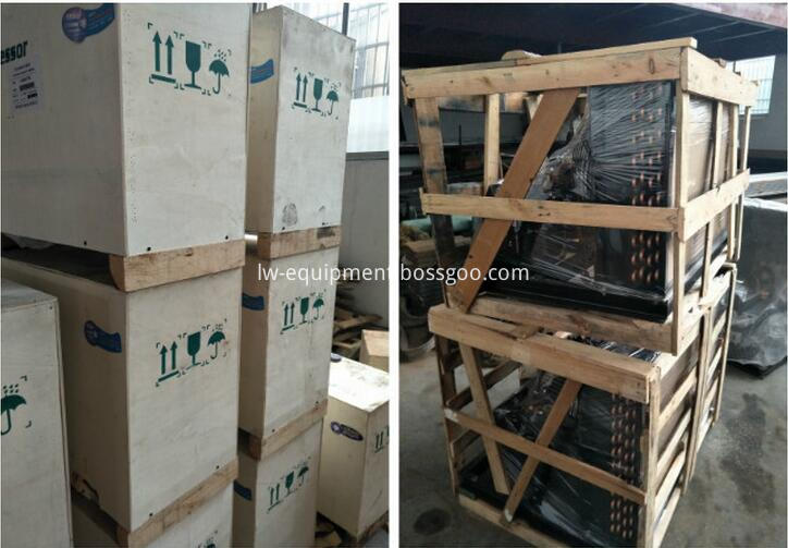 cold storage project with PU sandwich panel