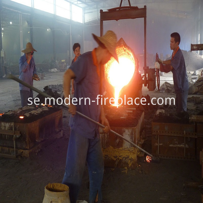Showrooms Fireplace Wood Burning Producing