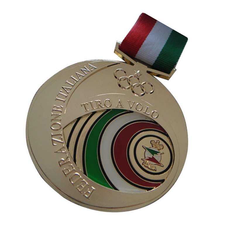Custom Medal With Ribbons 2