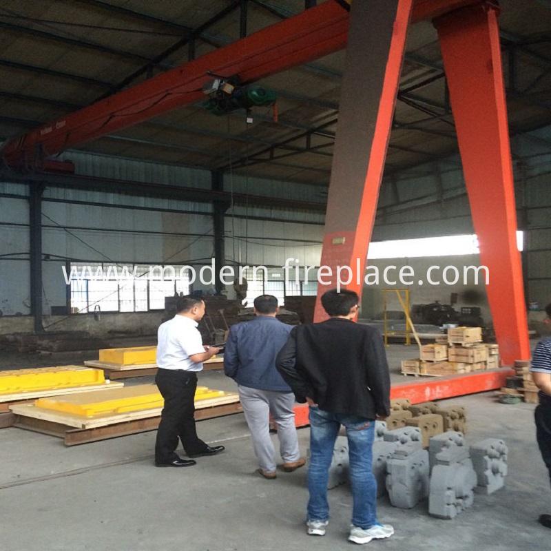 Wood Large Stoves Production