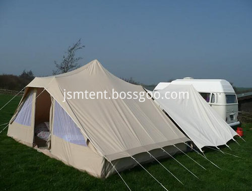 Family Camping Bell Tents