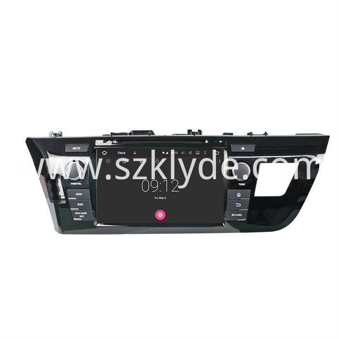Toyota LEVIN CAR DVD PLAYER (4)