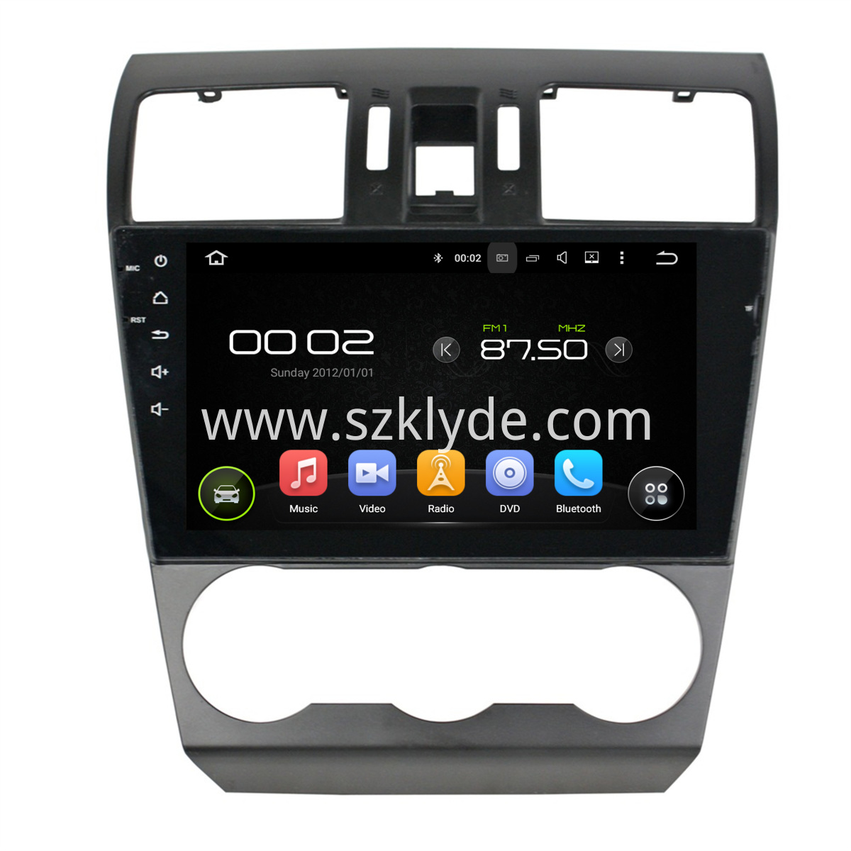 Forester Subaru 2014-2015 DVD drive player
