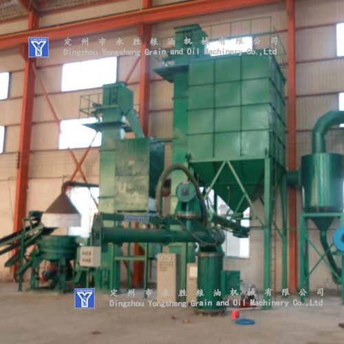 corn transmission machine