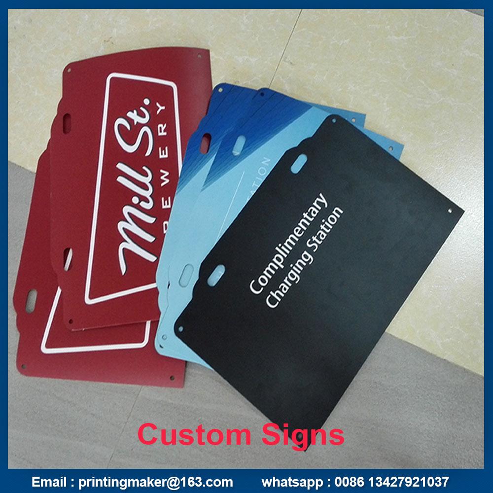 rigid pvc board signs