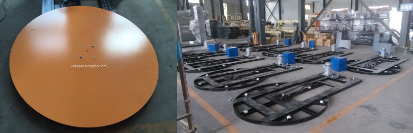 Top Plate Pallet Stretch Wrapper (turntable and overall frame)