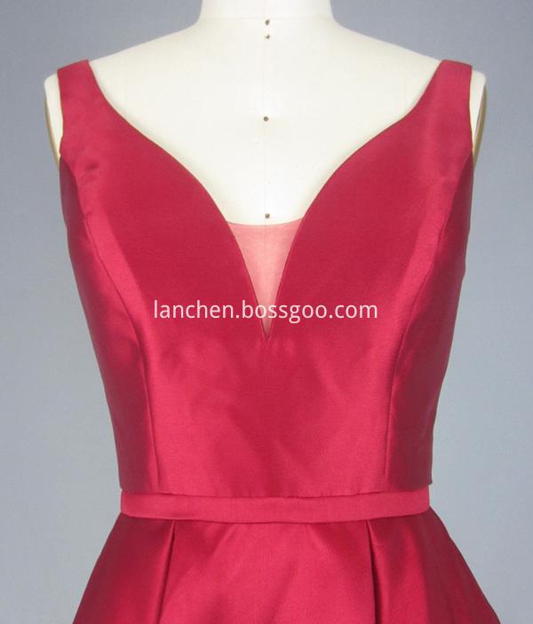 Bridesmaid Dresses Red detail