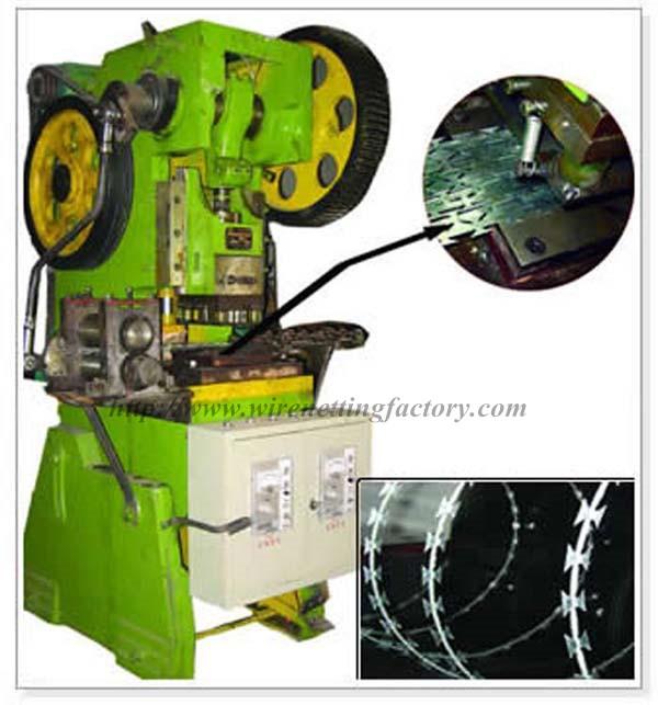 razor barbed wire machine