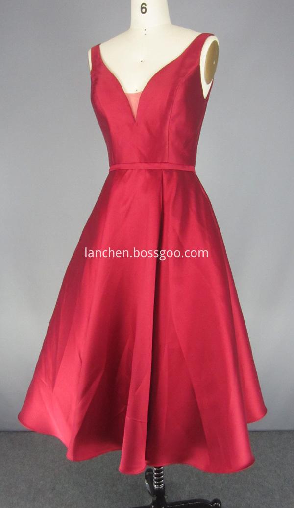 Deep V Prom Dresses