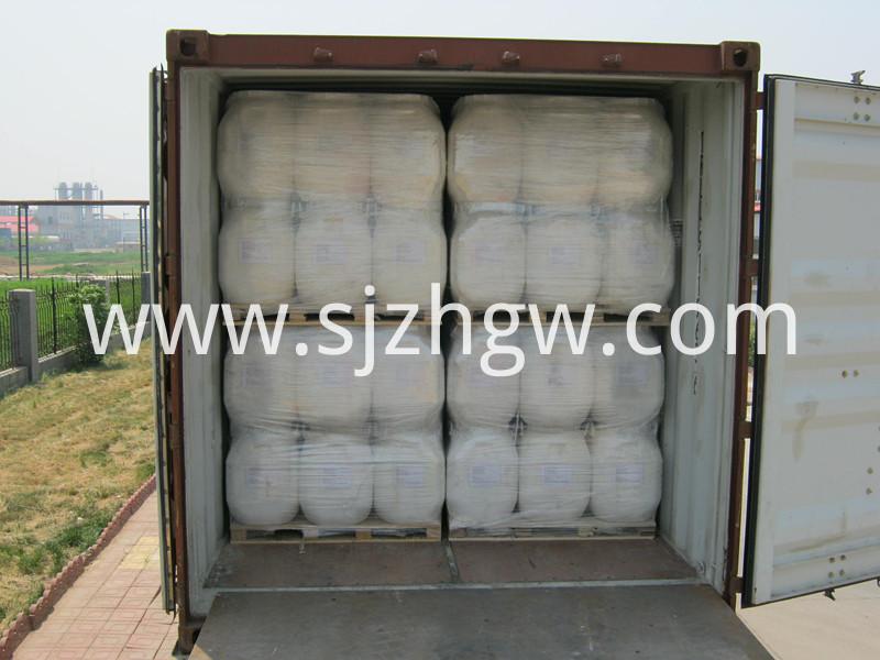 Cyanuric acid packaging