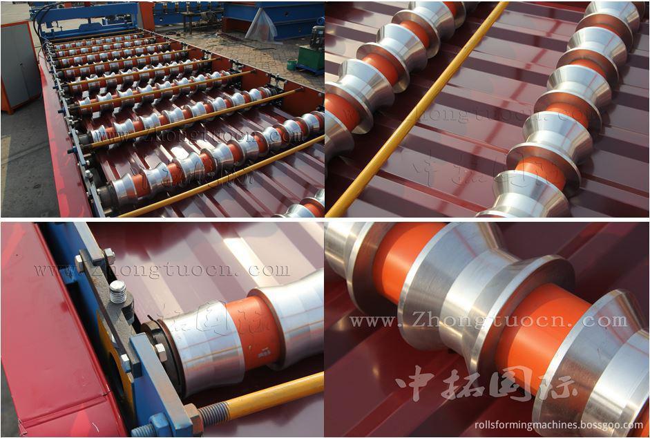 Trapezoidal metal sheet forming machine ZT25-200-1000 ZT25-200-1000 05