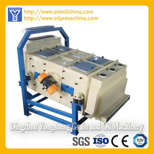 Vibration cleaning sieve-Peanut Oil Pretreatment Equipment