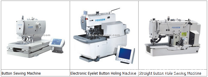 Button and Buttonhole Sewing Machine