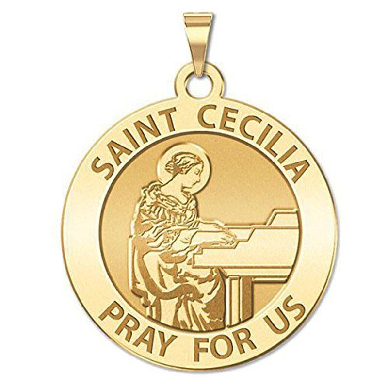 Saint Cecilia Religious Medal