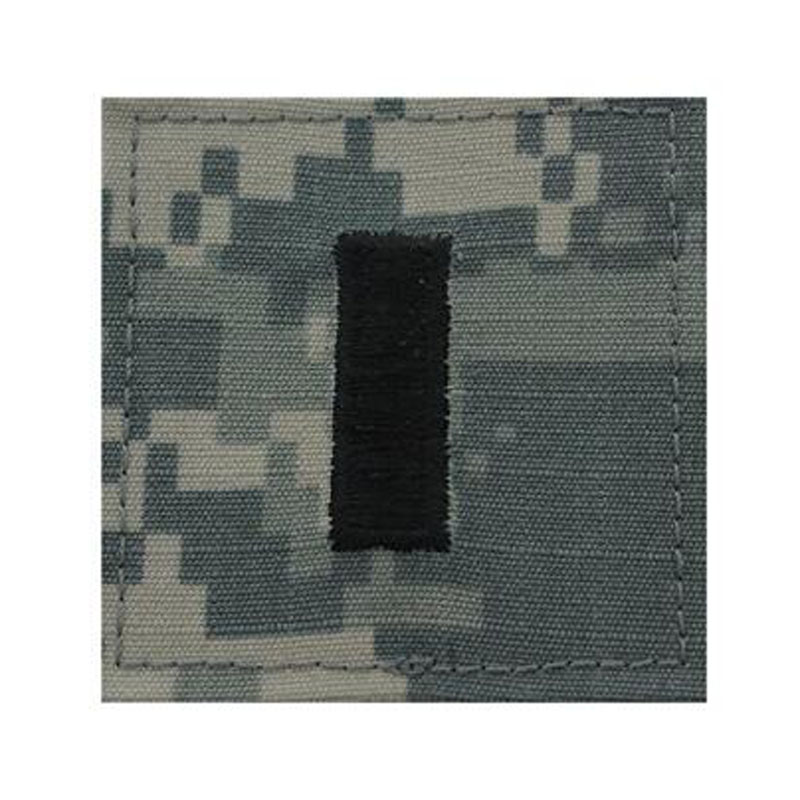Military Rank Insignia Hook Tab Patches