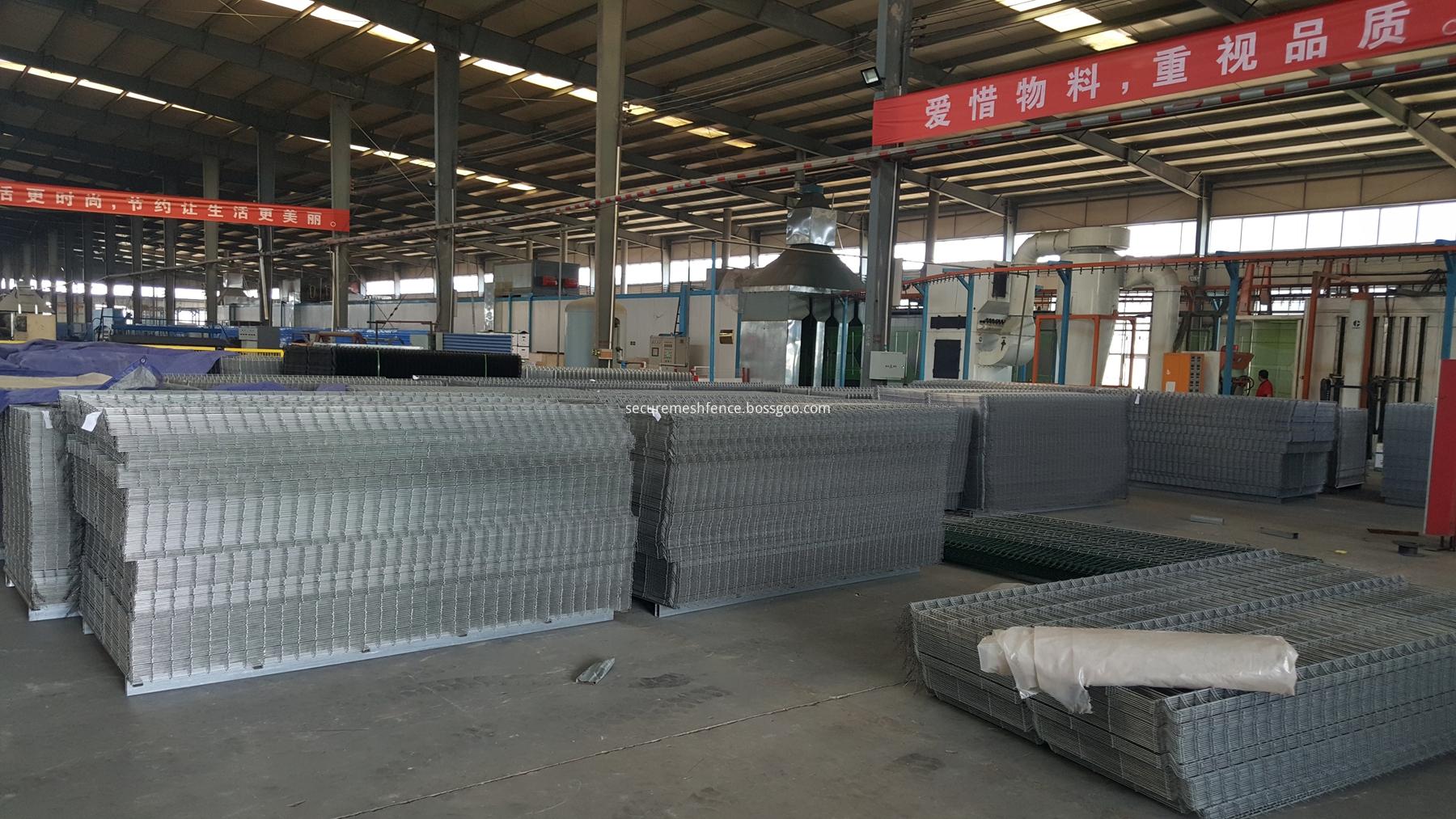 51 vertikale Drähte biegen Maschendrahtzaun China Hersteller