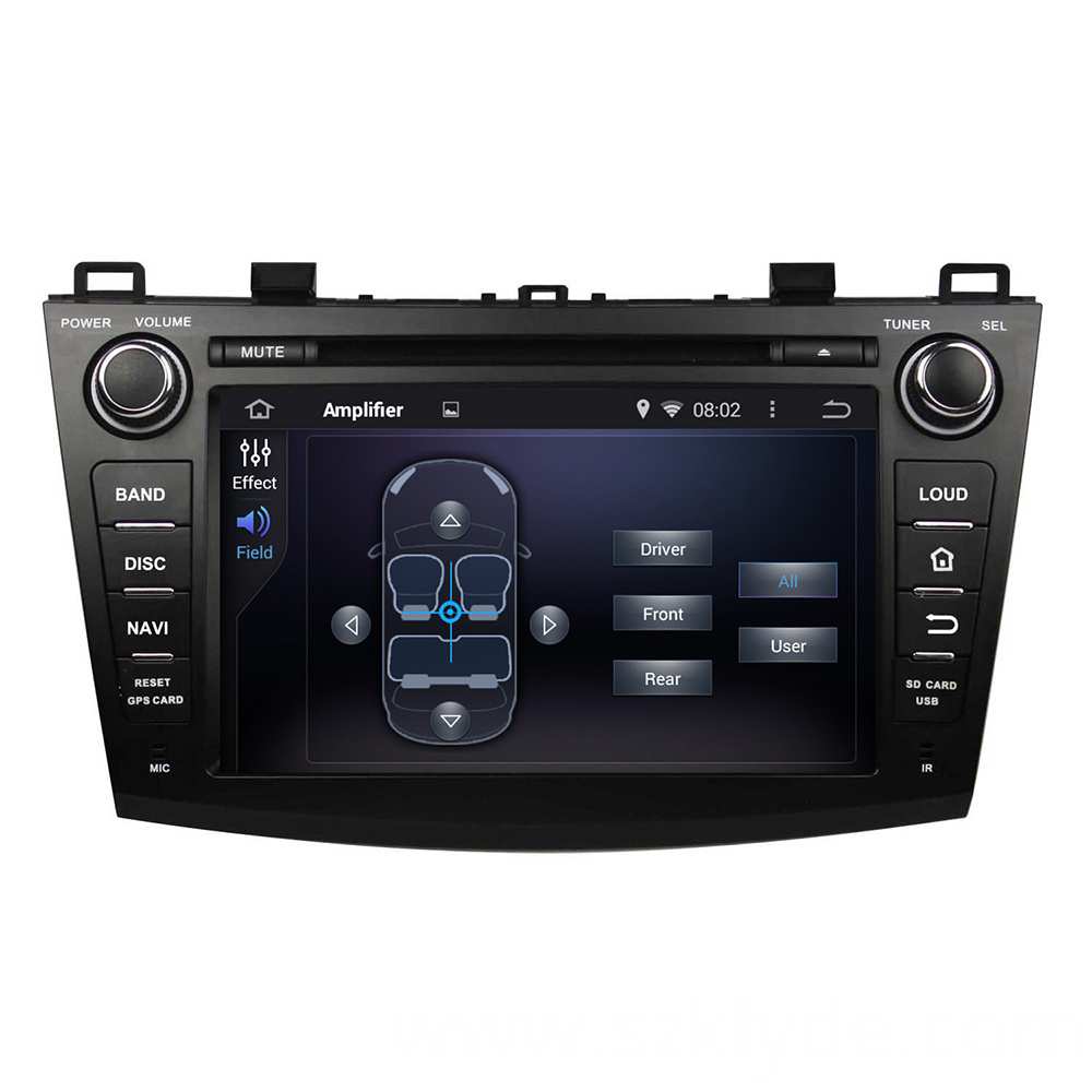 android 6.0 car DVD for MAZDA 3 2009-2012