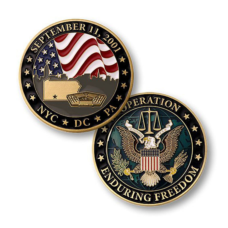 Enduring Freedom Challenge Coin