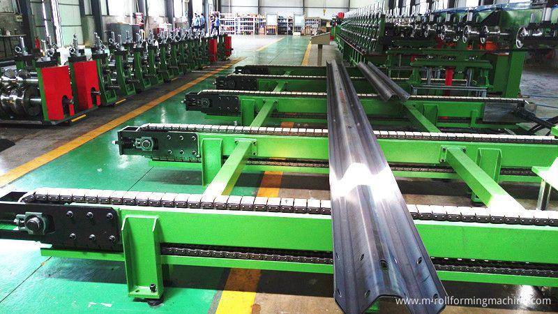 speedway guardrail roll forming machine