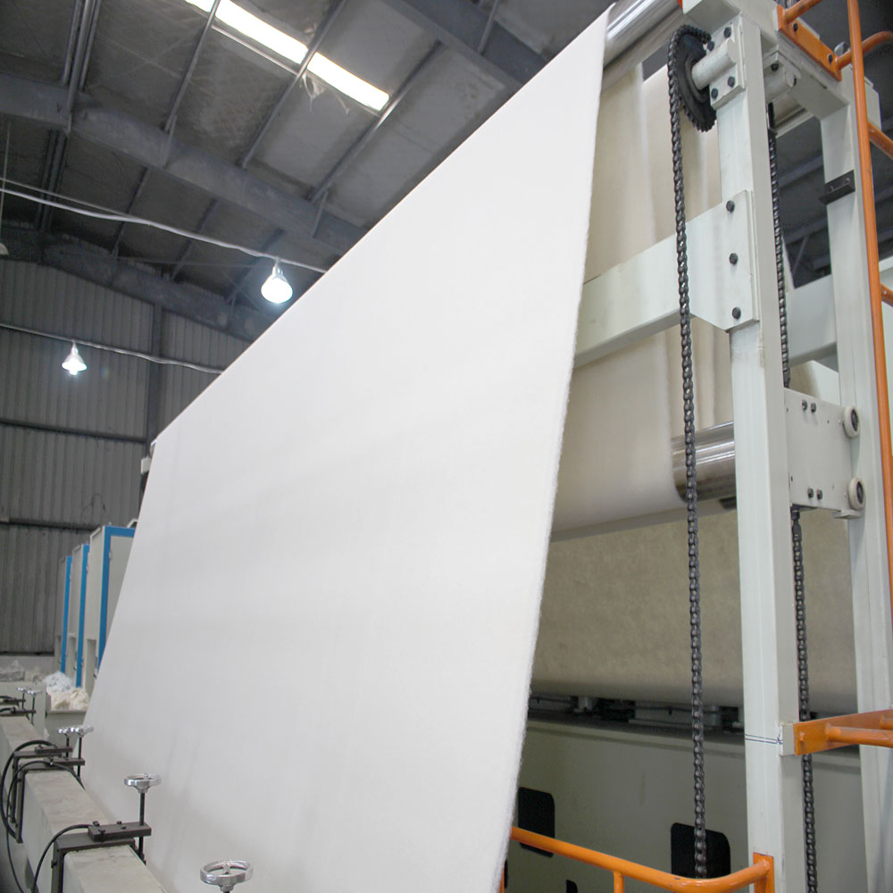 geotextile fabric line