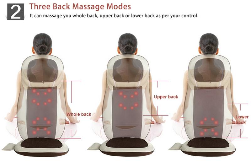 Shiatsu Massage Cushion With Heating Function