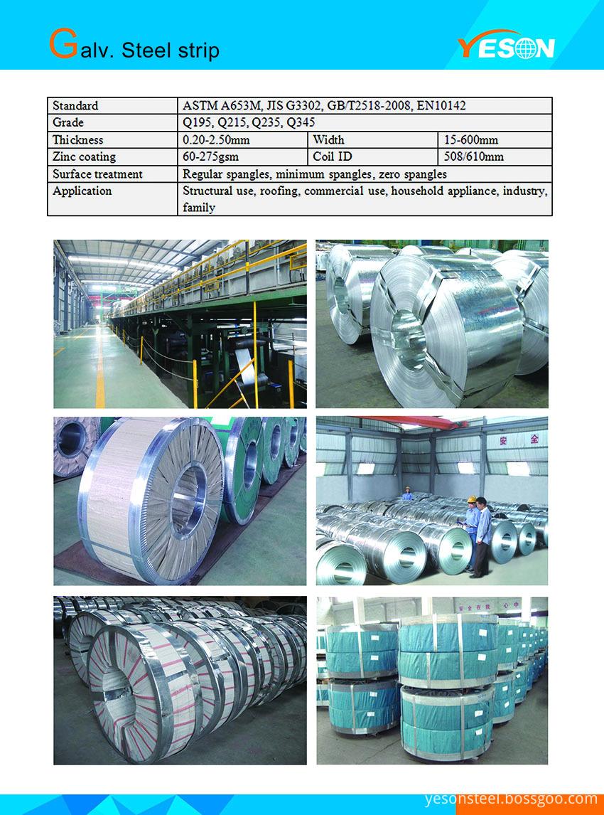 Galv. Steel Strip