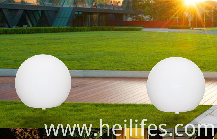 Solar LED Lawn Lighting ball lamp