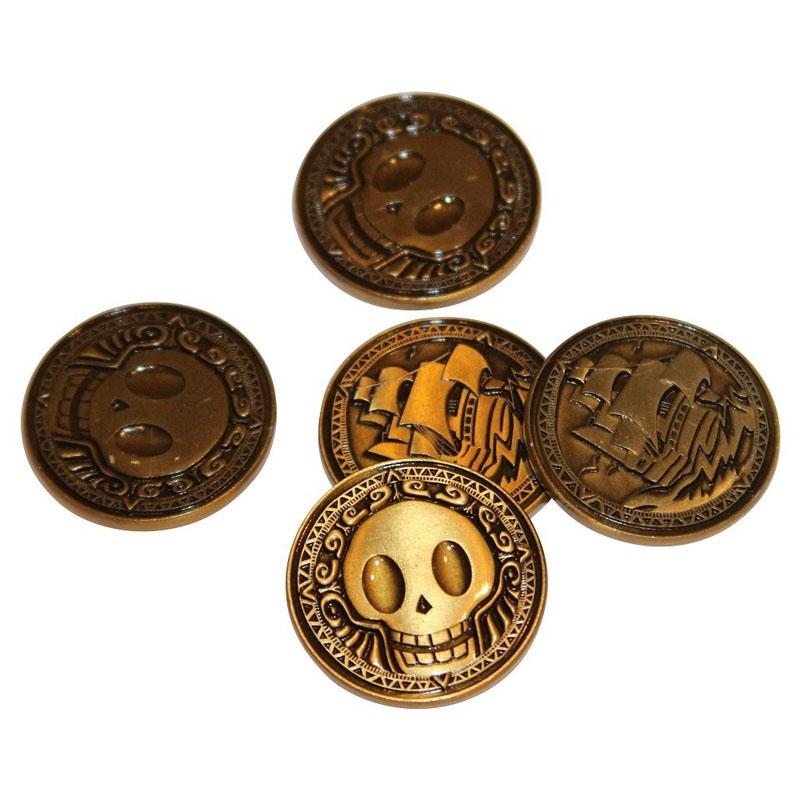 Die Cast Pirate Coin