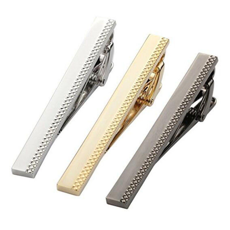Mens Metal Classic Tie Bars