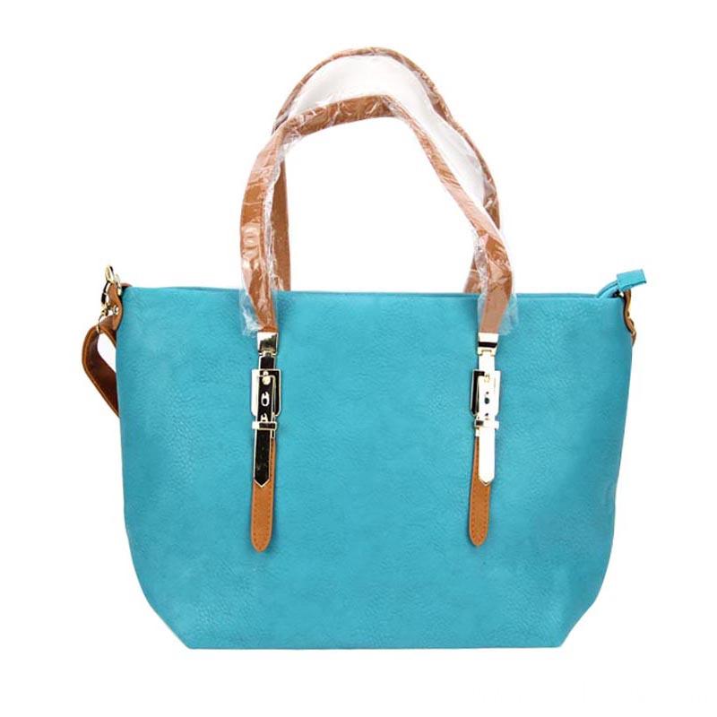 Blue Womens Tote Handbags