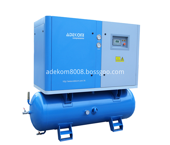 Receiver Mounted Electric Rotary Air Compressor-2