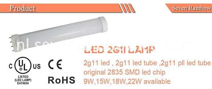 LED 2G11 lamp