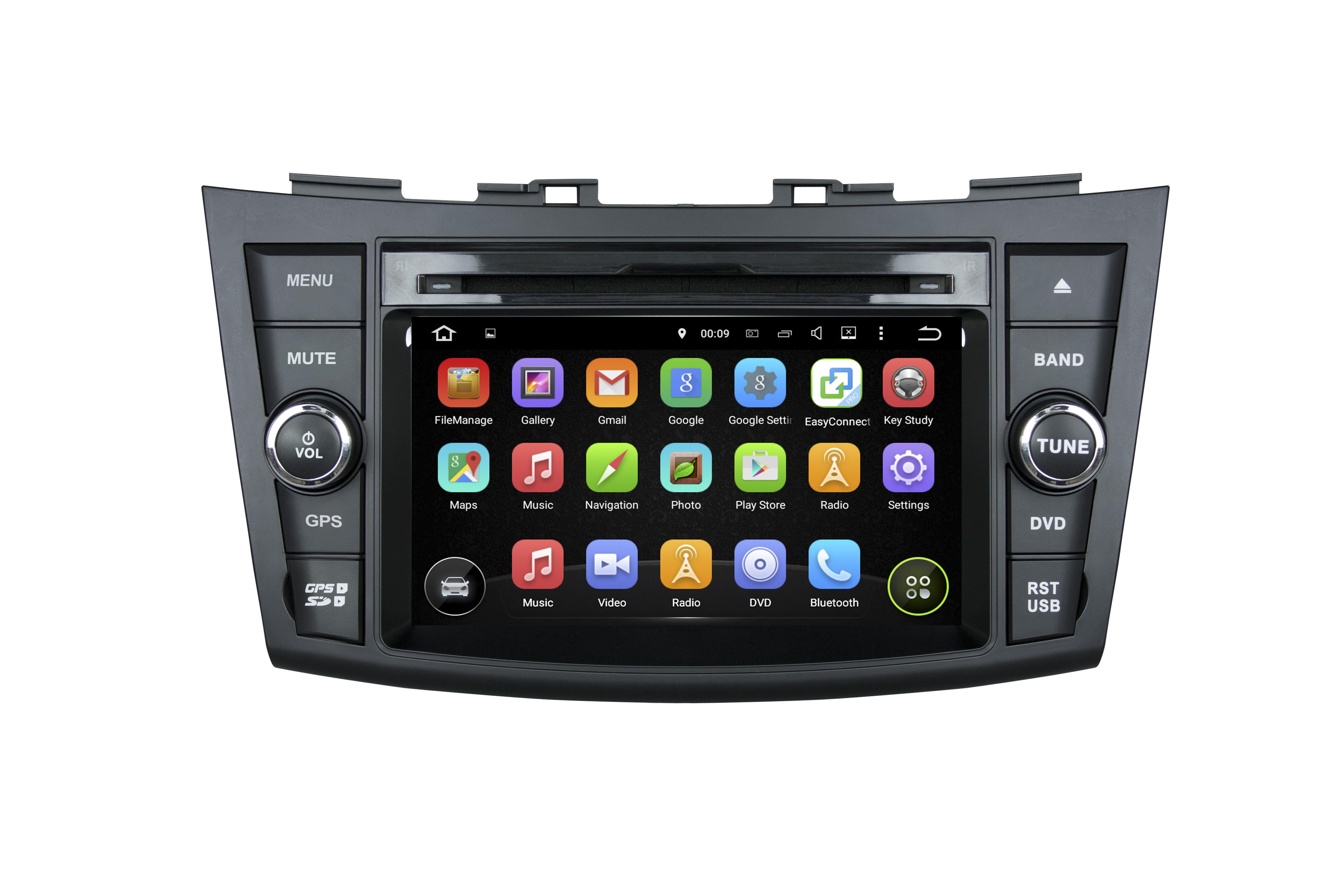 Suzuki swift car dvd gps navigation system