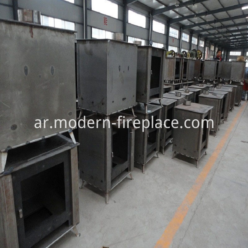 Wood Contemporary Burners Production