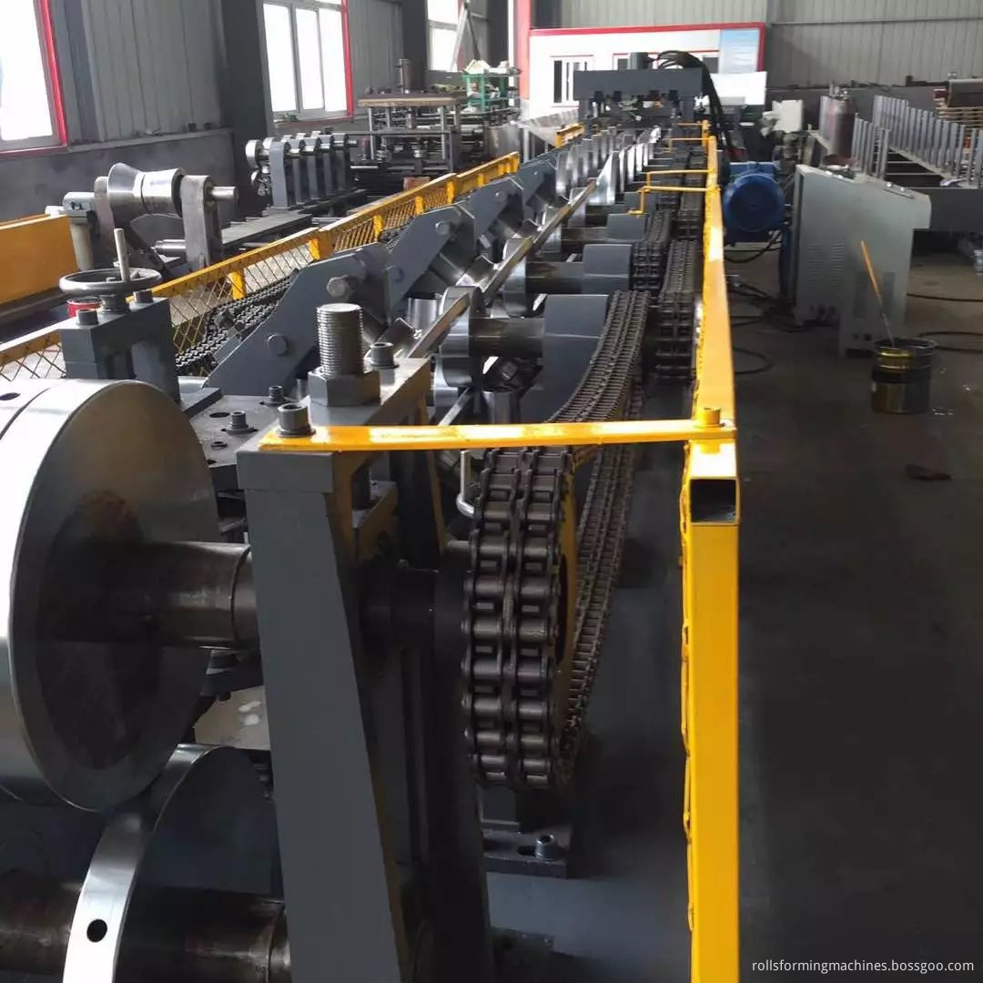CZ Purline Steel Frame Interchangeble Purlin Machine