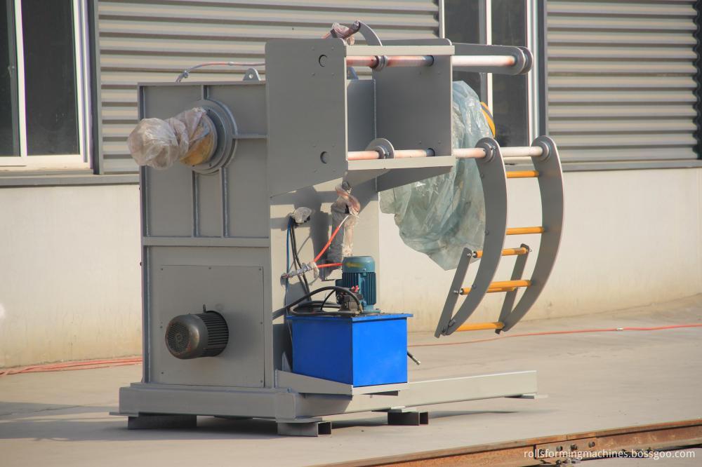 Trapezoidal metal sheet forming machine ZT25-200-1000 ZT25-200-1000 03